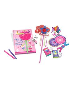 Another great find on #zulily! My Fairy Secret Diary Kit #zulilyfinds