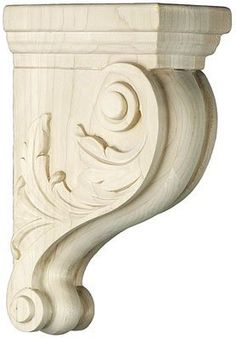 Maple Brackets. Leaf Pattern Maple Corbel in 3 Sizes by House of Antique Hardware. $68.95. Maple brackets in a Victorian scroll design corbel with leaf pattern on sides. This decorative hand carved wood bracket is available in 3 sizes.