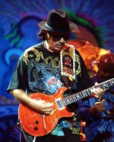 Carlos Santana, perhaps the greatest living guitar player.