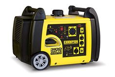 The Champion Power Equipment 75537i 3100 Watt RV Ready Portable Inverter Generator with Wireless Remote Start is a quiet and lightweight addition to your RV your next camping trip a weekend of tailg...