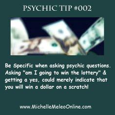 Psychic Tip #002