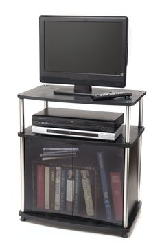 Convenience Concepts Designs2Go TV Stand with Cabinet for Flat Panel TV's up to 25-Inch or 50-Pounds -- Awesome products selected by Anna Churchill