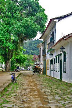 Paraty,  RJ, Brazil by deltafrut, via Flickr