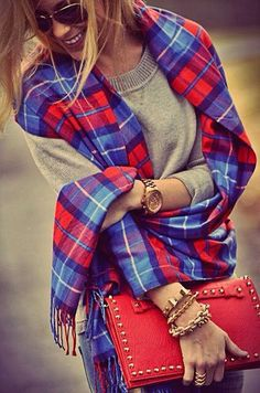plaid flannel wedding | 22 Stylish Plaid Clothing Trends for Fall/Winter 2014