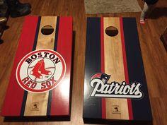 New England Patriots cornhole