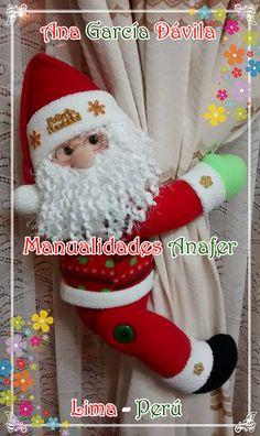 Muñecos cortineros Preciosos muñecos de nieve, ratones, jengibres, renitos y Noeles ideales para decorar las cortinas. Elaborados en...