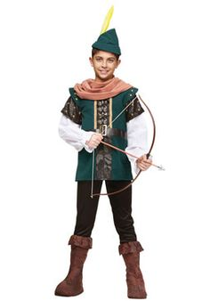 Robin Hood Child Costume General Kids Costumes