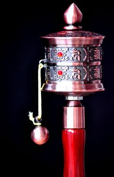 Prayer wheel, millions mantra inside, recited by Lama masters...