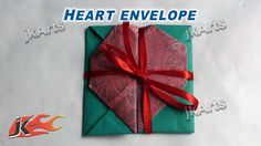 HOW TO: DIY Shagun envelope Heart for gifting in wedding, trousseau and baby shower - JK Arts 287
