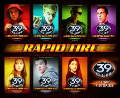 39 clues Rapid Fire Shorts should be read before the Series 2