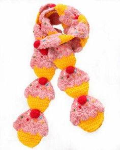 I found 'Yummy You Pink Cupcake Scarf' on Wish, check it out!