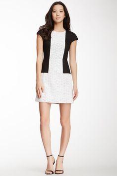 tibi Carey Cap Sleeve Linen Dress by Non Specific on @HauteLook
