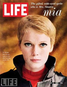 May 5, 1967 | The Gifted Wide-Eyed Sprite Who Is Mrs. Sinatra - MIA - In Europe Mia Farrow Takes On Her First Starring Role