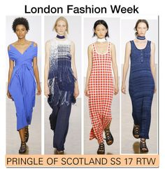 """LFW ' 16 : Pringle of Scotland SS 17..."" by nfabjoy ❤ liked on Polyvore featuring LFW and runway"