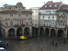 Plaza central. Ourense