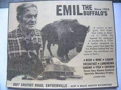 Emil buffalo