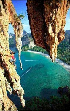 mountainsports:Climbing in Krabi, Thailand