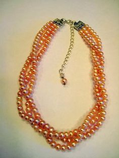 Three Strands  Pearls