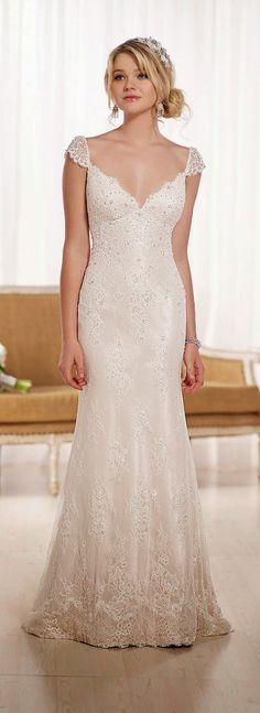 Sheath Wedding Dress : Essense of Australia Fall 2015 : Special Preview   bellethemagazine.com