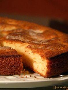 Recette - Gâteau rustique aux pommes - Notée 4.5/5 par les internautes