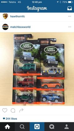 "Most will applaud this – John Lambert has reported that the Matchbox Land Rover series will now be available in the UK – via a so called ""Lamley Partner"" in the form of Mode…"