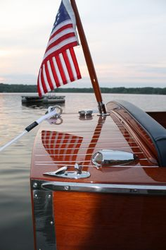 52 Chris-Craft. I spent my summers in Wolfeboro, NH on Lake Winnepesaukee. These old Chris Crafts were everywhere.