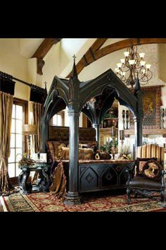 The epitome of gothic opulence.