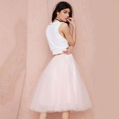 You can definitely feel like princess in this layer skirt- BuyWithAgents