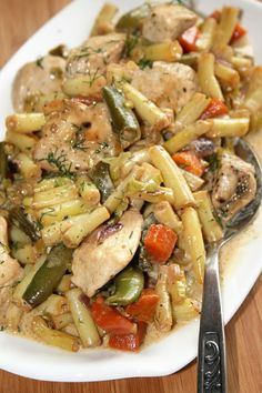 Diet Recipes, Chicken Recipes, Cooking Recipes, Recipies, Polish Recipes, Best Appetizers, Tasty Dishes, Pasta Salad, Food Porn