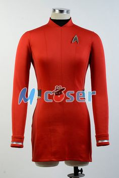 >> Click to Buy << Star Trek Beyond Nyota Uhura COSplay Costume Uniform Dress Gown Red Suit Uniform For Women #Affiliate