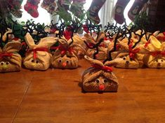 Reindeer Soap gifts given to a local nursing home.