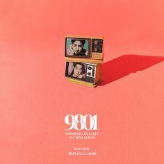 #우석X관린 1st Mini Album [9801]  #WOOSEOKXKUANLIN #우석X관린_9801 #구팔공일