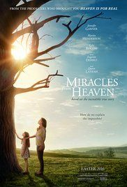 Miracles from Heaven Saturday & Sunday Only! July 16 & 17 Starring Jennifer Garner, Kylie Rogers, Martin Henderson