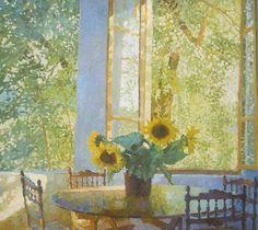 nicholas verrall, Sunlight and Sunflowers