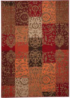 Commandez maintenant Tapis Anna terre cuite - bpc living à partir de 19,99 ? sur bonprix.fr. Tapis tissé style patchwork aux couleurs harmonieuses, matière ...