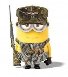Combining my TWO favorites things!! Minions + Duck Dynasty = Duck Mynasty!!!