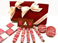 Kappa Alpha Psi chocolate candies