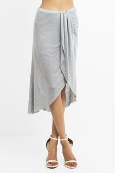 84baf8ad94 Pull on this deliciously soft and stylish knit skirt to give your Empire a  touch of exotic flair. The tencel fabric drapes beautifully while a column  of ...
