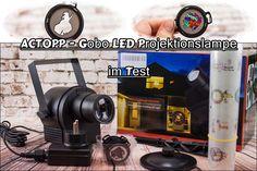 ACTOPP - Gobo LED Projektionslampe im Test - Susi und Kay Projekte