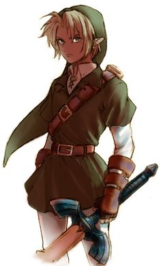 belt blonde_hair gloves hat holding link male nintendo ocarina_of_time pointy_ears sword the_legend_of_zelda weapon The Legend Of Zelda, Legend Of Zelda Breath, Image Zelda, Ocarina Of Time, Nintendo, Ben Drowned, Link Art, Link Zelda, Wind Waker