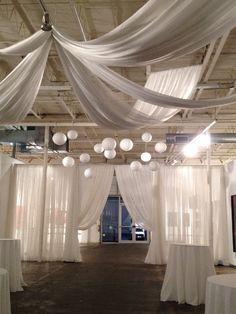 EventDrapery.com   Event Drapery Ceiling Treatments »