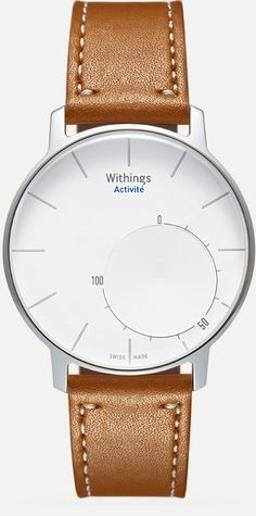 Withings Activité Smart Watch which is basically a beautiful and stylish fitbit
