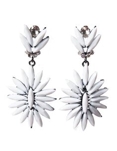 Neon starburst earrings - Frostjewel