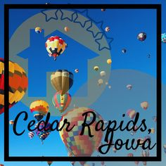 Find out about all things Cedar Rapids here. Cedar Rapids, Iowa, Poster, Billboard
