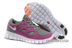 the best attitude 19279 bd515 Nike Free Run 2 Womens Running Shoe Gray Grape Orange TopDeals, Price    59.96 - Adidas Shoes,Adidas Nmd,Superstar,Originals