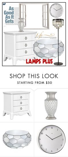 """lampsplus#9"" by sabahetasaric ❤ liked on Polyvore featuring interior, interiors, interior design, home, home decor, interior decorating and WALL"