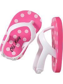 f4c18168015 PINK FLIP FLOPS  3.94 Baby Girl Shoes