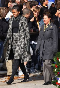 Michelle Obama FLOTUS Style Retrospective: November 2011, Isabel Toledo