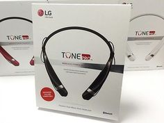 ﹩39.88. New LG TONE Pro HBS-760 Black Wireless Bluetooth Stereo Headset+Free Car Charger    Compatible Fit Design - Neckband, Color - Black, Wireless Technology - Bluetooth, Connector(s) - Micro USB, Earpiece - Double, Features - Bluetooth Wireless, Compatible Connectivity - Wireless, Earpiece Design - Canal Earbud (In Ear Canal), MPN - 60590305XP