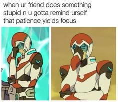 Read memes from the story ꧁☬voltron memes☬ by Voltron_heroes (SpreadYourWings) with reads. Voltron Klance, Voltron Memes, Voltron Comics, Voltron Fanart, Form Voltron, Voltron Ships, Mecha Anime, Steven Universe, Samurai